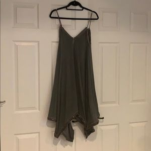 Grey gypsy dress